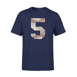 Baseball Jersey Number 5 T-Shirt