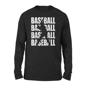 Baseball Lover Cool Gifts Long Sleeve T-Shirt