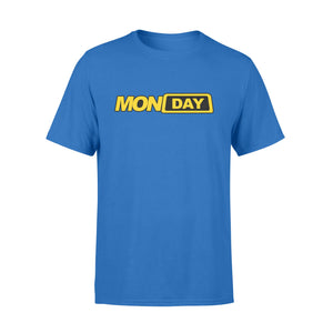 Monday Fake Taxi Logo Seven-Day Of The Week - Premium T-shirt