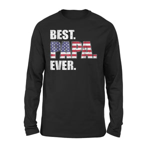 Best Papa Ever Premium Long Sleeve T-Shirt