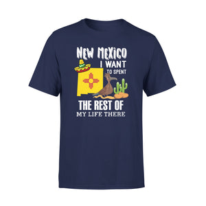 Mens Cotton Crew Neck T-Shirt - The Rest Of My Life There