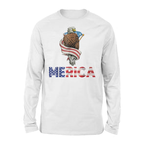 American Bald Eagle Merica Premium Long Sleeve T-Shirt