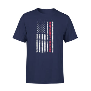 American Respiratory Therapist Us Flag 4th Of July Premium T-Shirt