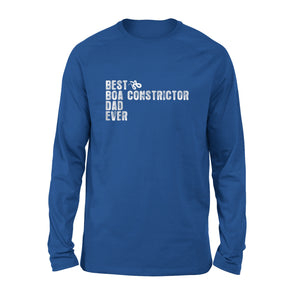 Best Boa Constrictor Dad Ever Long Sleeve T-Shirt