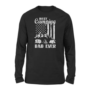 Best Camping Dad Ever Long Sleeve T-Shirt