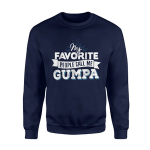 Call Me Gumpa For Men Dad Fathers Day Gift Sweatshirt