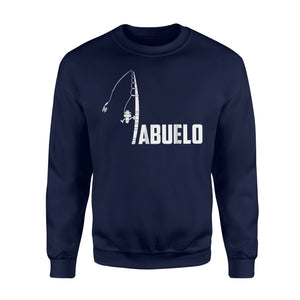 Abuelo Fishing Lover Gift For Fathes Day Sweatshirt