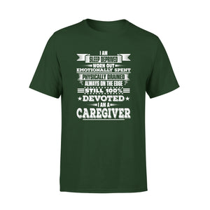 Mens Cotton Crew Neck T-Shirt - I Am Sleep Deprived