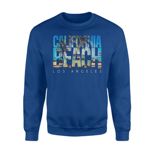 California Beach Los Angeles Palm Sweatshirt
