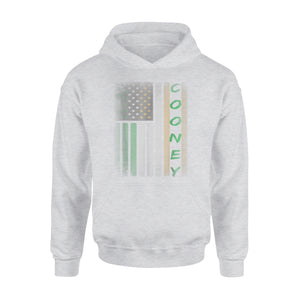 Cooney Irish American Flag Premium Hoodie