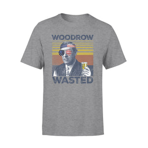 4th Of July Shirt Woodrow Wasted T-Shirt