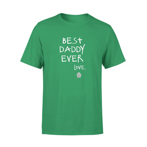 Best Doggie Daddy Ever Signed Love Puppy Paw T-Shirt