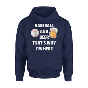 Baseball And Beer 05 Hoodie