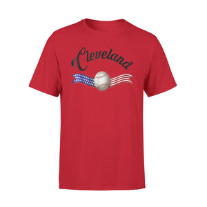 Cleveland Ohio Baseball Heart Cle T-Shirt