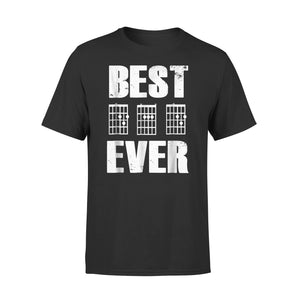 Best Dad Ever Bass Clef Musician Fathers Day 02 T-Shirt