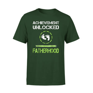 Achievement Unlocked Fatherhood 01 T-Shirt