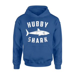 Hubby Shark - Funny Family Hoodie