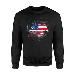 Anteater Independence Day Patriotic US Flag Sweatshirt