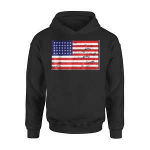 American Flag  4th Of July Tee  July 4th Premium Hoodie