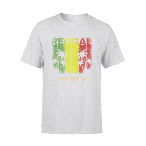 Mens Cotton Crew Neck T-Shirt - Just Relax 01