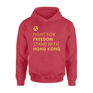 Fight For Freedom Stand With Hong Kong Hoodie