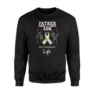 Autism Awareness Father And Son Best Friends  Sweatshirt