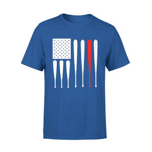 American Flag Fathers Day Baseball T-Shirt