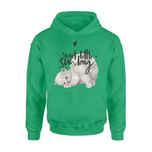 Sweet Little Sunday Cat Style Seven-Day Of The Week Hoodie