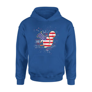Chipmunk Independence Day Premium Hoodie