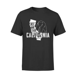 Best Dad Ever California Fathers Day T-Shirt