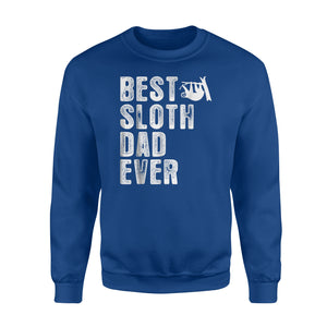Best Sloth Dad Ever Sweatshirt