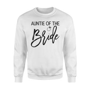 Auntie Of The Bride And Ring Sweatshirt