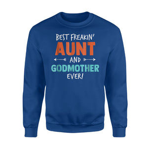 Best Favorite Aunt Auntie Gifts Girls Women Sweatshirt