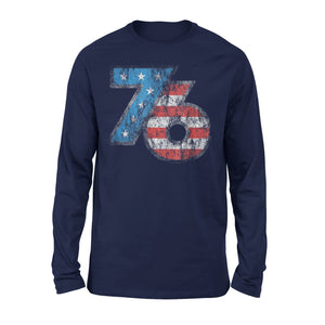 Cool Patriotic American Vintage 1776 Usa Premium Long Sleeve T-Shirt