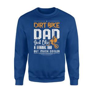 Cool Dirt Bike Dad Father's Day Gift Sweatshirt