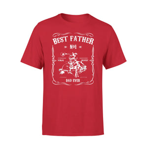 Best Father Dad Cowboys Ever Rodeo Shirt. No.1 T-Shirt