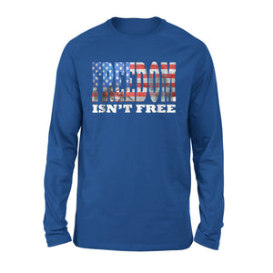 Cool American Flag Freedom Premium Long Sleeve T-Shirt