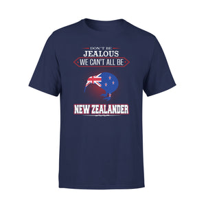 Mens Cotton Crew Neck T-Shirt - New Zealander 01