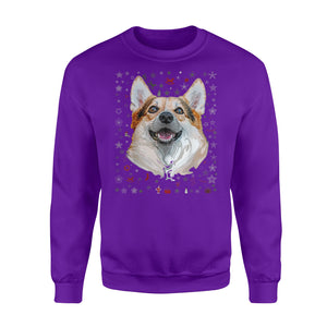 Corgi Lover Ugly Christmas Sweater Funny Christmas Sweatshirt