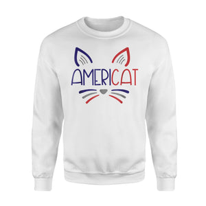 AmeriCat, 4th Of July Cat Sweatshirt