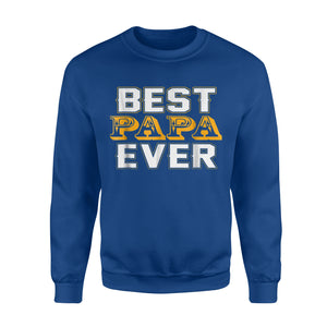 Best papa Ever Vintage Cool Father's Day Gift Idea Sweatshirt