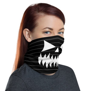 Horror Neck Gaiter | Creepy Pumpkin Smile