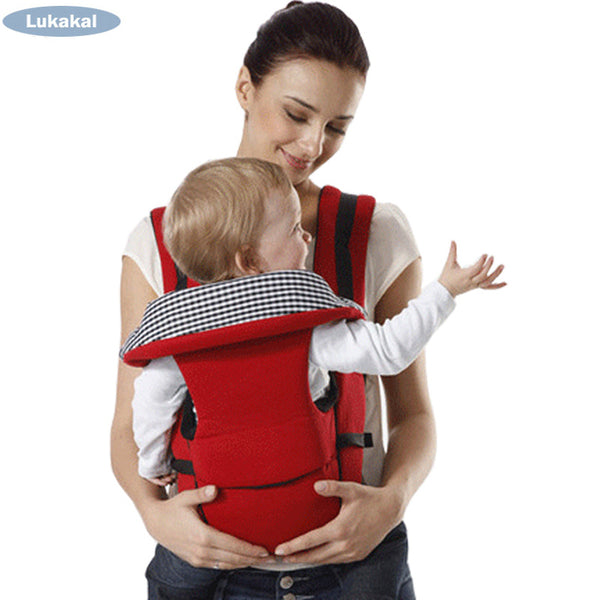 0-36 Months Baby Backpack Sling  Face to Face Mummy Kangaroo Wrap Bag Ergonomic Multifunctional Front Facing Infant Baby Carrier
