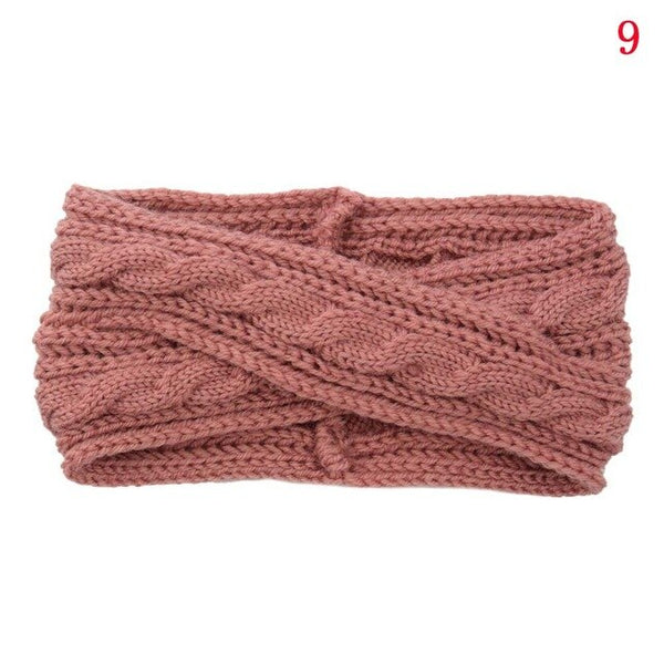 1 PCS Men Women Unisex Fashion Winter Warm Fleece Headband Earband Stretchy Headband Earmuffs Ear Warmers Headdress HairBands