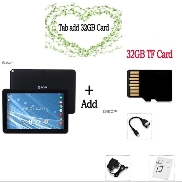 10.1 inch Tablet Pc Android 6.0 WiFi computer tab pc tablette Quad Core 32GB Mini Computer Pc 10 inch PC 7 8 9