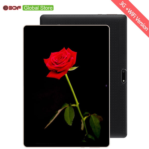 10 Inch Phone Call Android Octa Core Tablet Pc Android 7.0 4GB 64GB WiFi 3G External FM Bluetooth 4G+64G Tablets Pc 5Mp camera