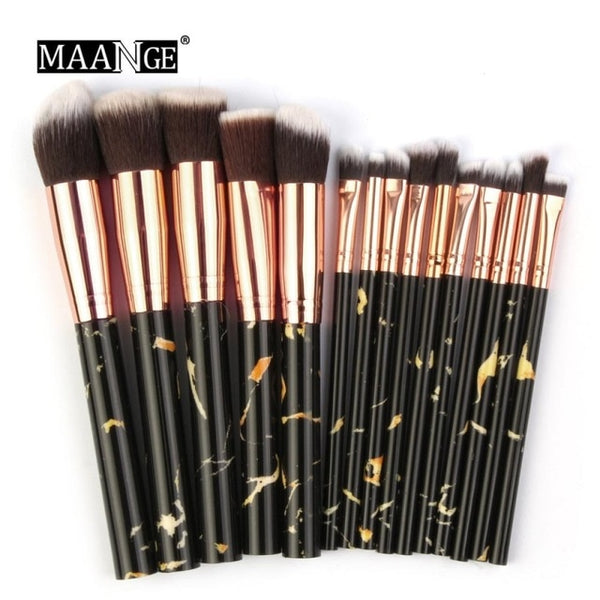 15PCS/Set Pro Make Up Brushes Multifunctional Makeup Brushes Concealer Eyeshadow Foundation Brush Set Tool brochas maquillaje