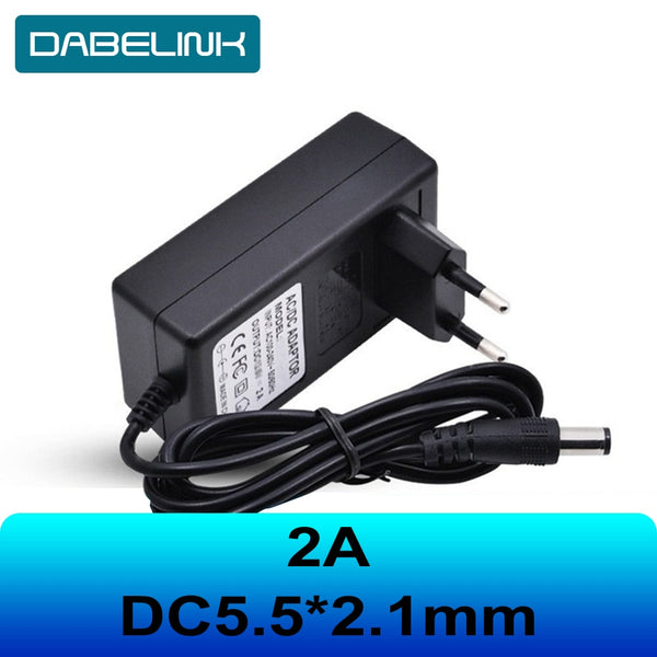 16.8V 21V 8.4V 12.6 12V Charger carregador de DC 5.5*2.1MM 2A 18650 Charger IP camera CCTV Charger Liion Battery Charger