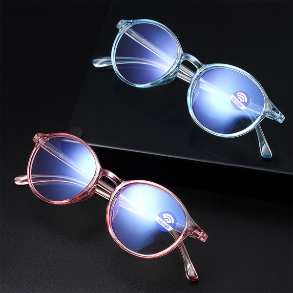 1PC Unisex Portable Optical Ultra Resin Blue Light Blocking Eyeglasses Flexible Vision Care Computer Glasses Eyewear Accessories