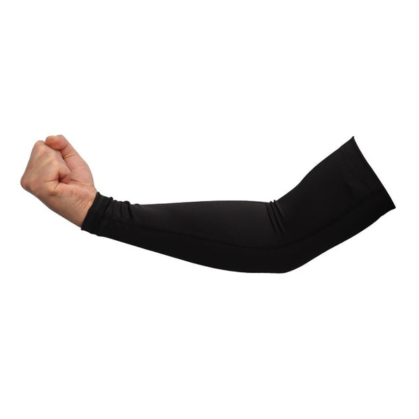 1pcs Basketball Running Arm Sleeves Sun UV Protection Men Volleyball Elbow Pad Fitness Armguards Sports Cycling Arm Warmers